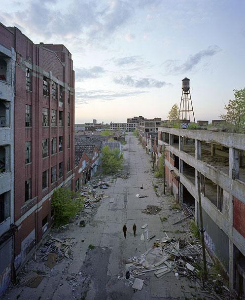 abandoed detroit