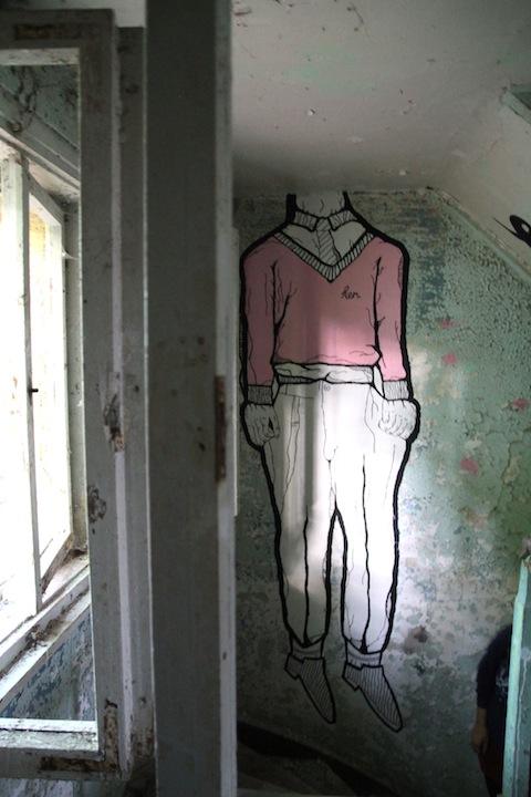 streetart heilstätten grabowsee