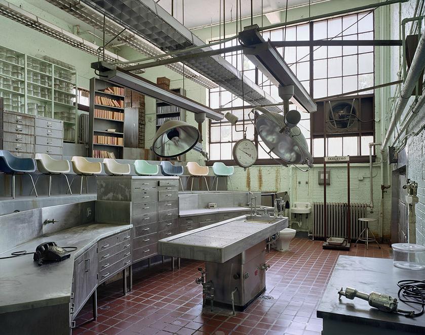 Autopsiehörsaal, St. Elizabeth's Hospital, Washington, DC