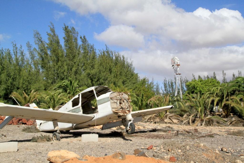 abandoned aircraft fuerteventura