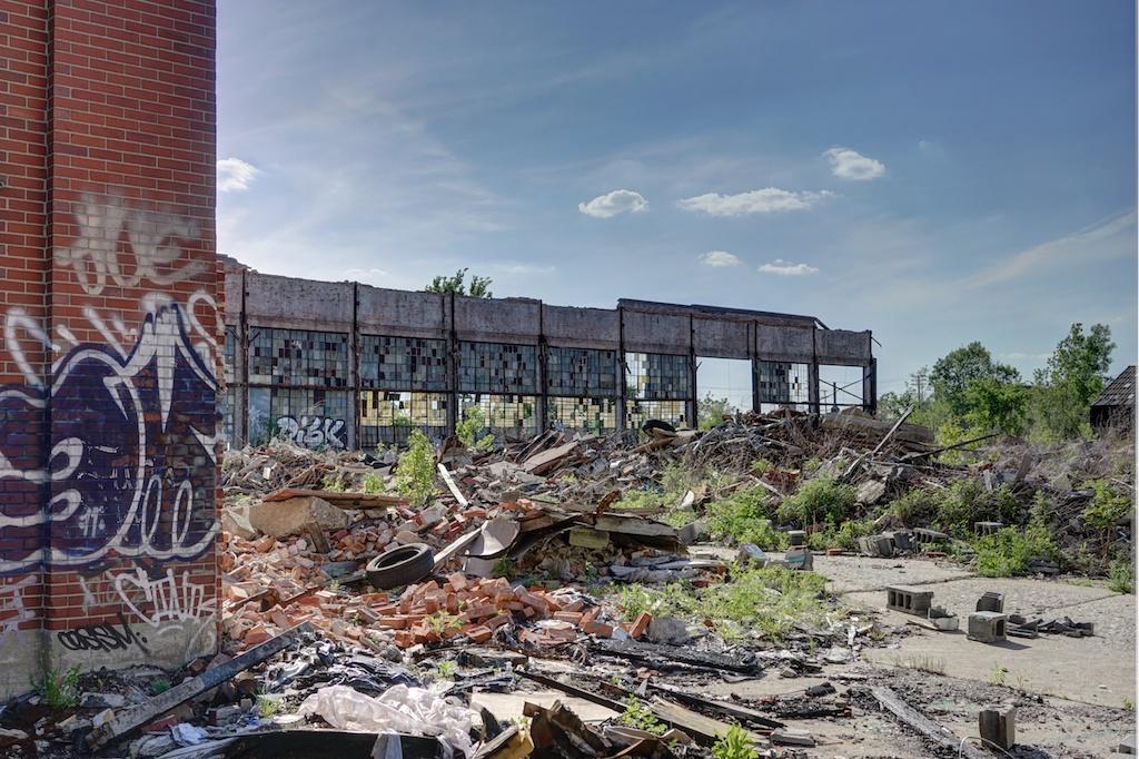 Remains-of-Packard-Automotive-Plant - Detroit
