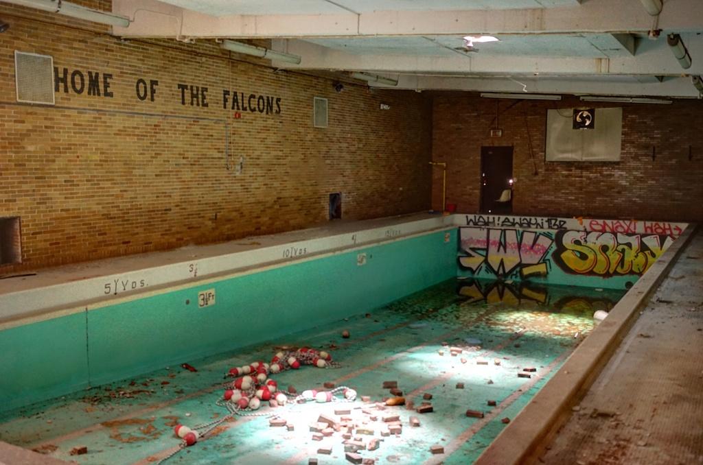 Swimming-Pool - George-Ferris-School - Detroit