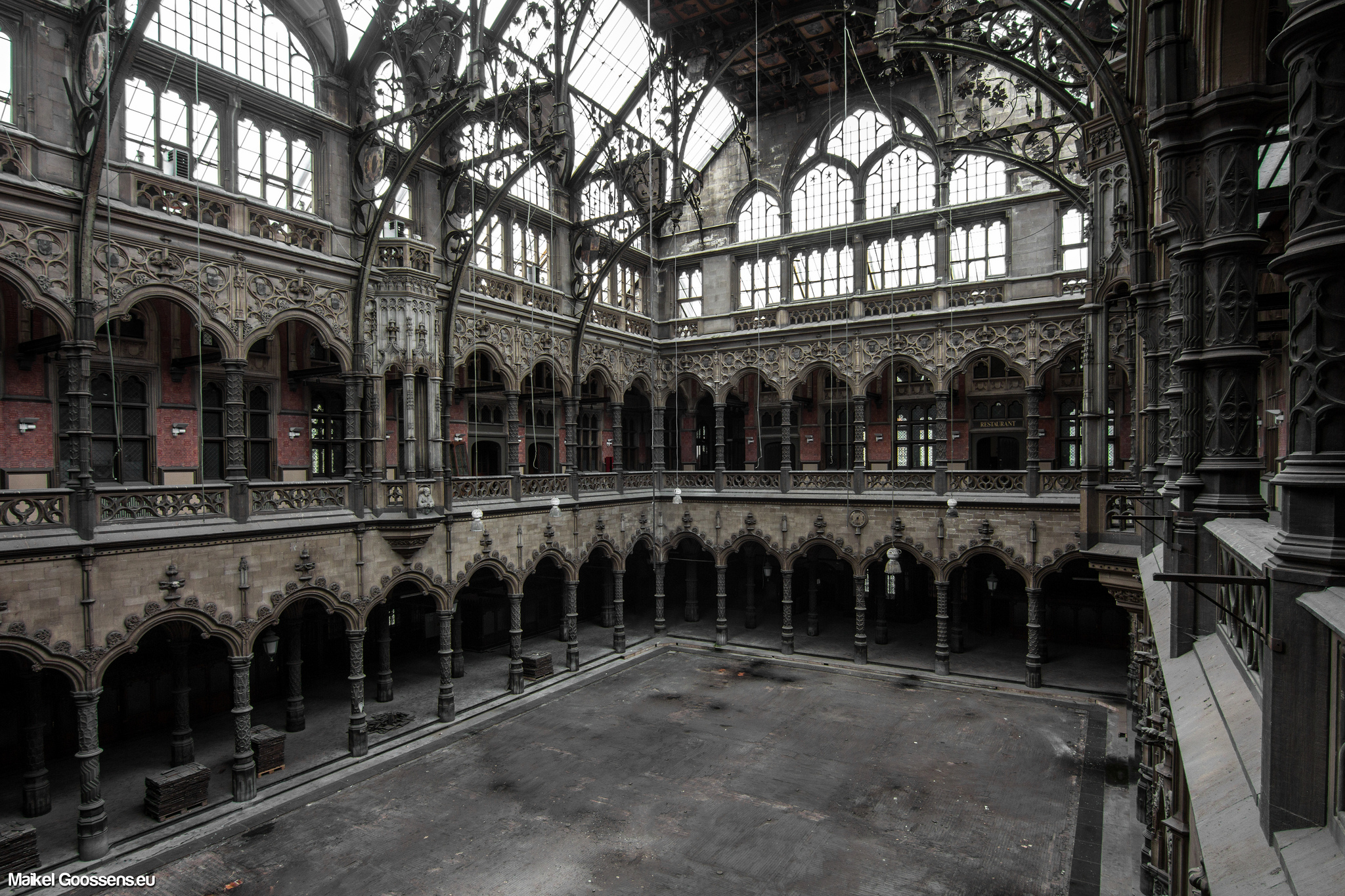 abandoned places antwerp